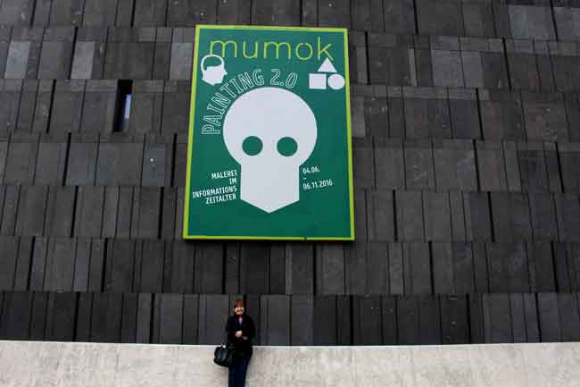 The Mumok looks like a bunker.