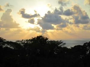 ojochal-bar-sunset