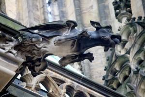 gargoyle-winged-goat